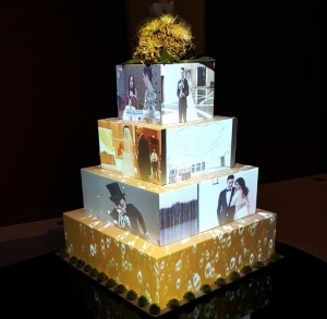 Cake-Projection-Mapping-Photo-Chateau-Luxe